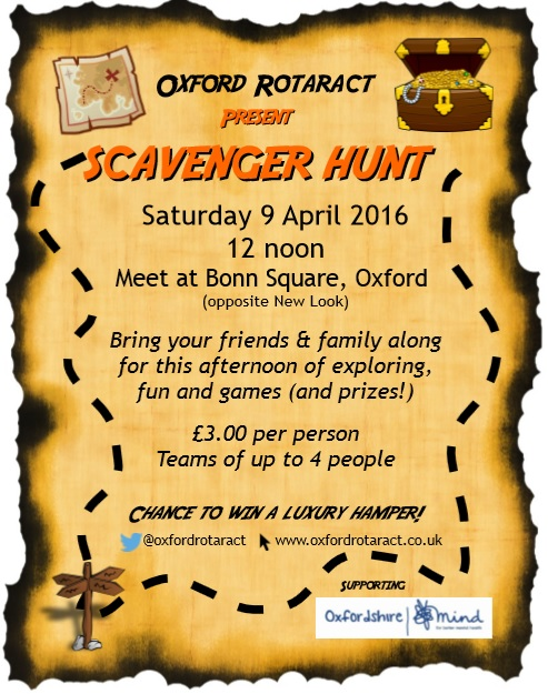 Oxford Rotaract_Scavenger Hunt_090416
