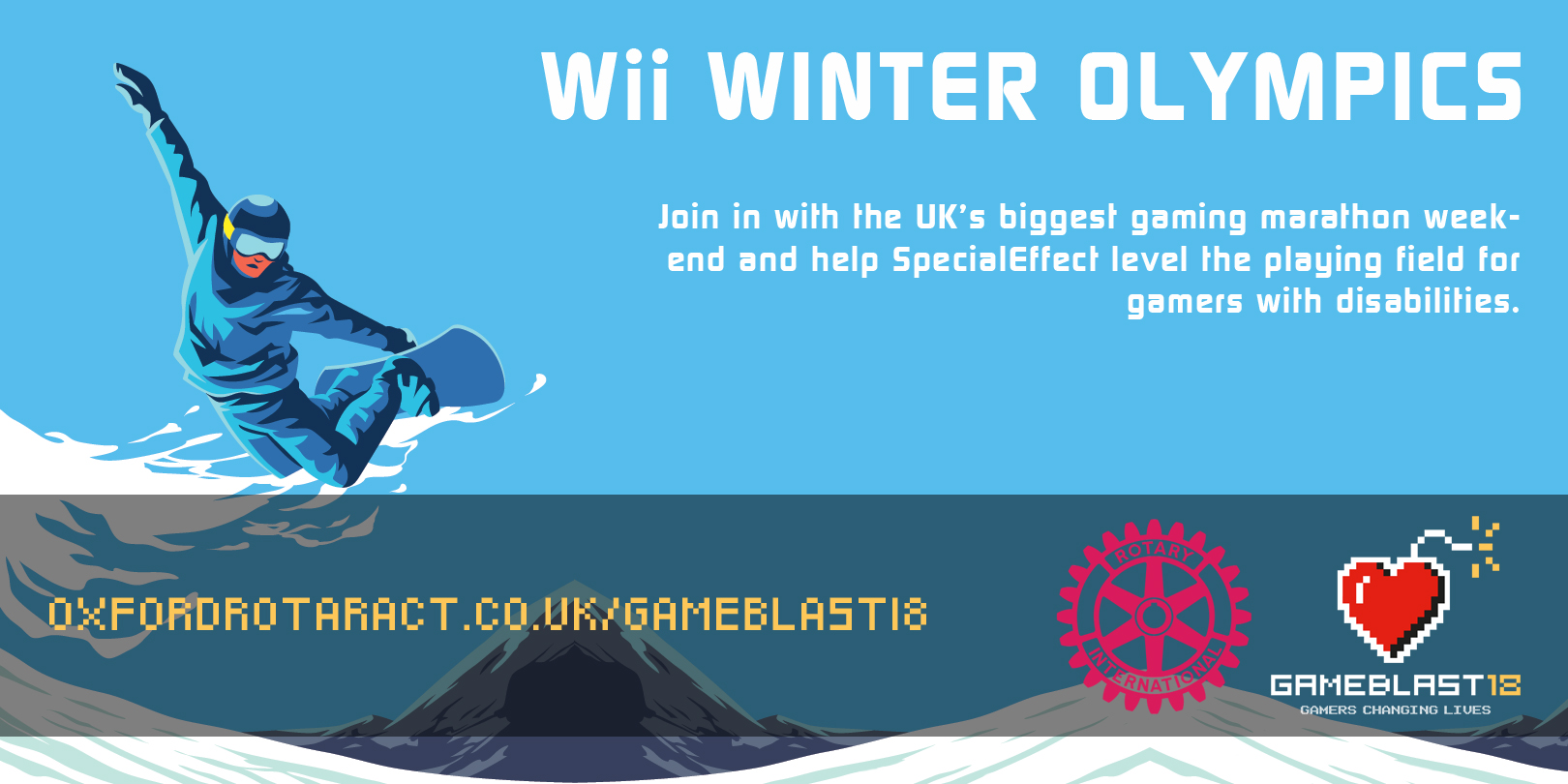 Wii Winter Olympics Banner